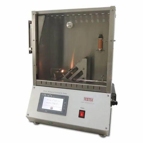 45 Degree Flammability Tester