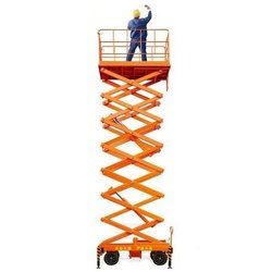 Industrial High Reach Scissor Lift