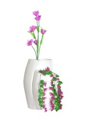 Beautiful Double Curved Floor Vase