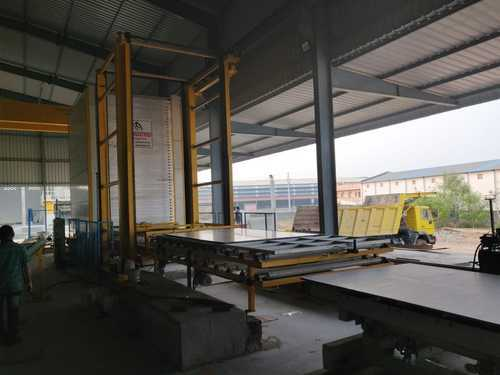 Multi Layer Stacker Granite Processing Machine, Production Capacity: 10 To 12 Slab Per Hour, 60 Kw