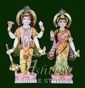 Marble Laxmi Narayan Idol