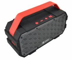 Black-Red Zoook Bluetooth Speaker ZB-ROCKER TORPEDO