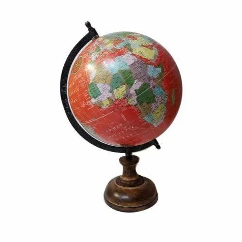 Red Decorative Globe