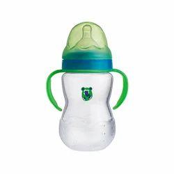Plastic Transparent 250ml Wide Neck Feeding Bottle