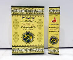 Ayurvedic Vanilla Masala Incense Sticks