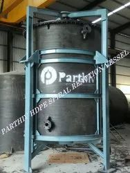 HDPE Spiral Reaction Vessel