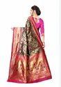 Ekta Jacquard Silk Saree With Rich Pallu