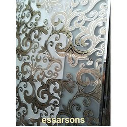 Rectangular Designer Glass