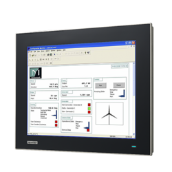 Industrial Monitor with Resistive Touchscreen
