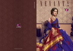 Nevanta Silk Kanjivaram Art Silk Saree By Yadu Nandan Fashion