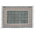 Cotton Printed Designer Living Room Area Rugs Carpet