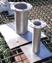 stainless steel puddle plate  304 grade