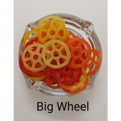 Ready Fry Salty And Crunchy Big Wheel Fryums, Packaging Type: Loose Bags