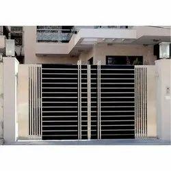 RG Steel Residential Swing SS Main Gate