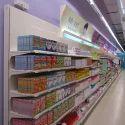 Supermarket Display Wall Unit