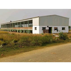 RCC And Iron Poultry Layer Shed
