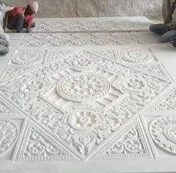 设计师大理石寺庙屋顶(Chaat)施工服务