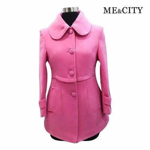 83ea90cad Fancy Ladies Collar Neck Winter Coat