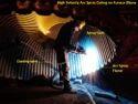 Metal Spray Coating Service On Steel Plant Furnace Elbow