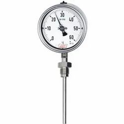 Rigid Stem Gas Filled Temperature Gauge