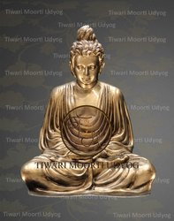 Marble Meditation Buddha Statue