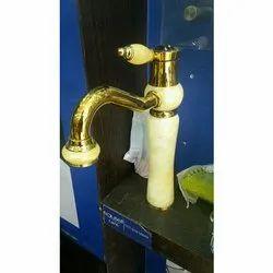 Brass Polished Designer Bathroom Water Tap