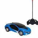 Plastic Remote Control Rechargeable 3d Car