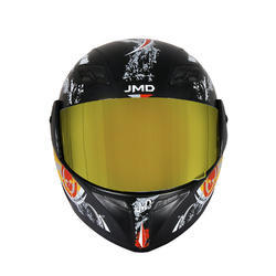 Trusty Mirror Visor Full Face Helmet