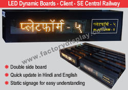 Train Display Systems for Promotional