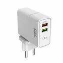 Rd Ac-310 Quick Charge Dual Usb Charger Adapter Travel Charger For All Ios And Android Devices