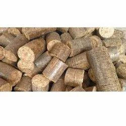 Wooden Agro Waste Briquette, Packaging Type: Pp Bag