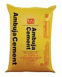 PPC (Pozzolana Portland Cement) Ambuja Cement 53 Grade, Packaging Type: HDPE Sack Bag, Packaging Size: 50 Kg