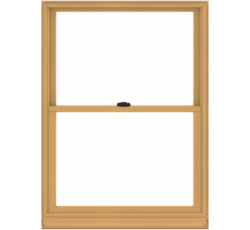 Double Hung Wooden Window