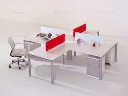 Crossing Shape Modular Workstations