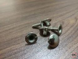 12mm Mild Steel Top Bottom Rivets Nickel