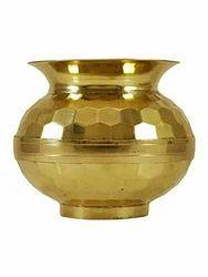 Brass Lota Embossed