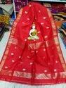 Handloom Cotton Heart Jamdani Saree