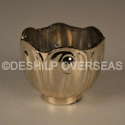 Glass Silver Antique Designer Votive Holders, Shape: Bowl