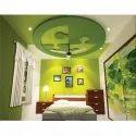 Kids Decoration Bed Room Gypsum False Ceiling Services