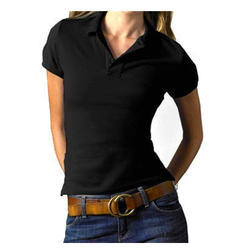 Cotton Half Sleeve Womens Polo T-Shirt, Features: Super Soft And Comfortable