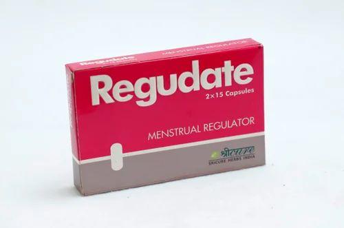 Herbal Menstrual Regulator Capsules