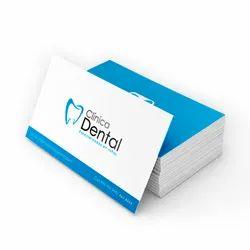 Paper Visiting Cards Digital and Screen Printing