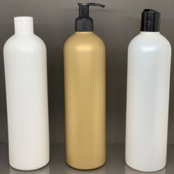 500 ml Round HDPE Bottle for Shampoo/Body Wash