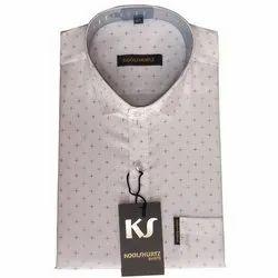 Koolshurtz Button Mens Fashion Shirt, Hand Wash, Machine Wash, Packaging Type: Box