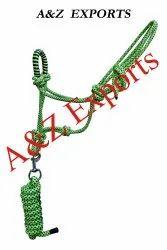 Horse Rope Halter/ Rope Collar with Lead /Nylon Halter/ PP Halter
