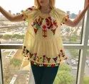Mexican Embroidery Blouses