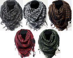 Custom Color Custom Pattern Male Casual Wear Men Arafat Woven Cotton Scarf