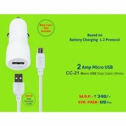 ERD CC-21 2Amp Micro USB Data Cable (W)