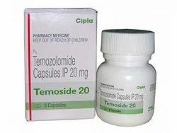 Temozolomide Capsules IP 20 Mg