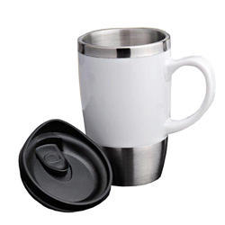 Handle White Sipper